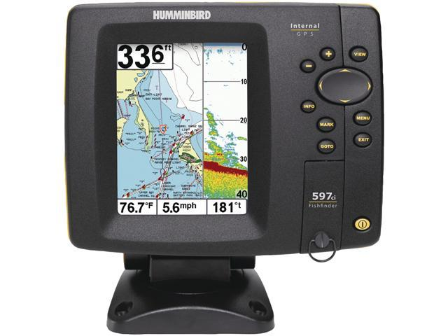 "Humminbird 5.0"" Fishfinder with Internal GPS Combo"