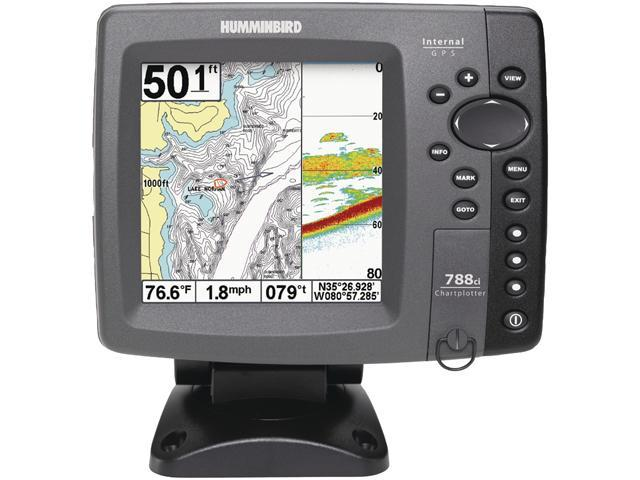 "Humminbird 5.0"" Fishfinder with Internal GPS Combo"
