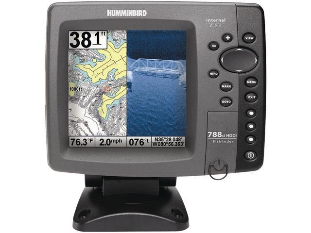 "Humminbird 5.0"" Fishfinder with Internal GPS"