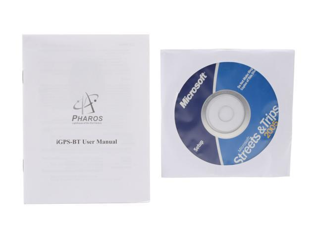 PHAROS PT110 Bluetooth GPS Receiver