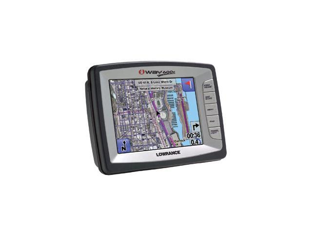 "LOWRANCE iWAY 600C 5.0"" GPS Receiver"