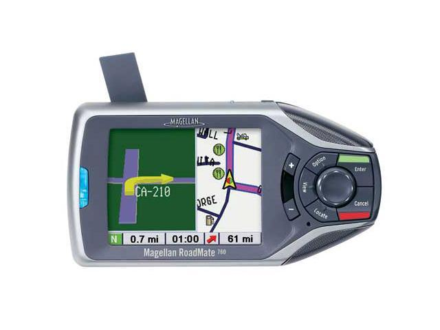 "MAGELLAN RoadMate 760 3.75"" Portable GPS Auto Navigation System"