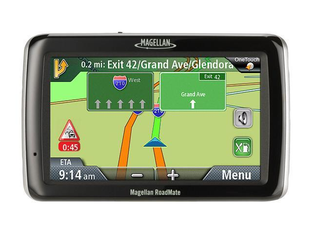 "MAGELLAN 4.3"" Widescreen Portable GPS Navigator with Lifetime Traffic"
