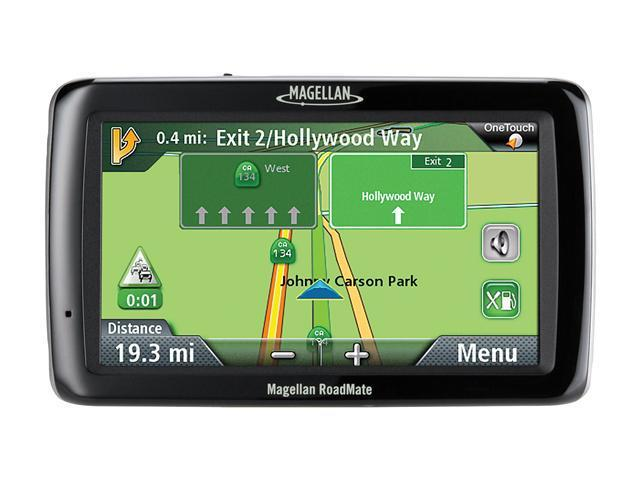 "MAGELLAN 5.0"" Widescreen Portable GPS Navigator with Lifetime Traffic"