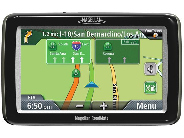 "MAGELLAN 4.7"" GPS Navigation w/ Free Lifetime Map Updates"