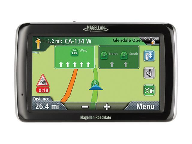 "MAGELLAN 4.7"" GPS Navigation w/ One Free Map Update"