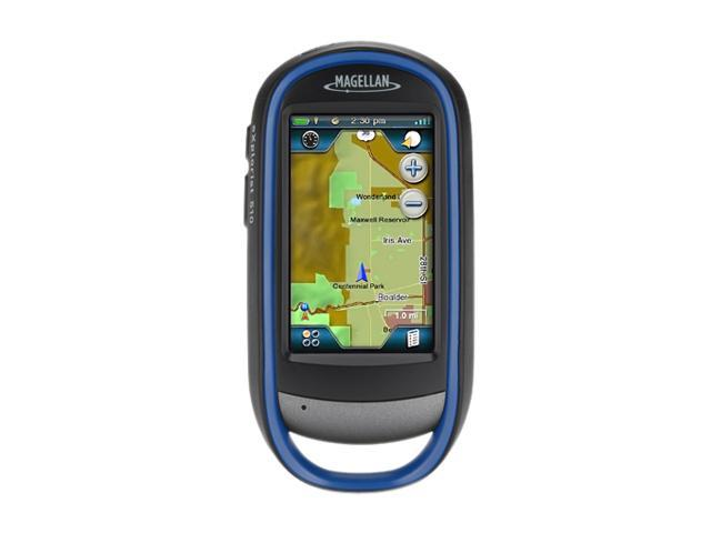 "MAGELLAN 3.0"" Handheld GPS Navigation w/ 3.2MP Camera"