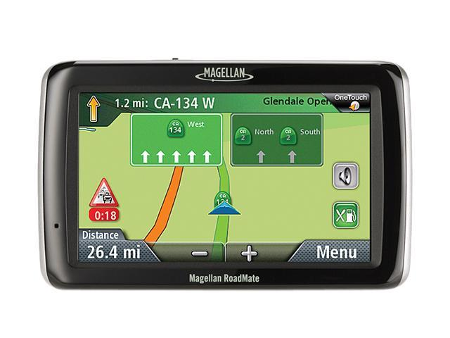 "MAGELLAN RoadMate 2045T-LM 4.3"" GPS Navigator w/ Lifetime Traffic & Map Update"