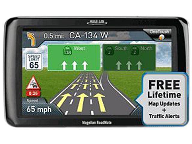 "MAGELLAN 4.3"" GPS Navigation w/ Lifetime Map Update & Traffic"