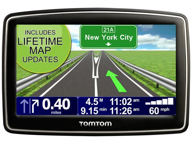 "TomTom XL 350M 4.3"" GPS Navigation with Lifetime Map Updates"