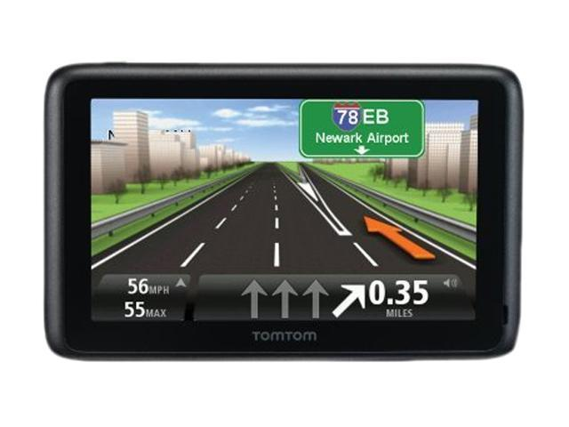 tomtom 4 3 gps navigation with lifetime traffic and map updates. Black Bedroom Furniture Sets. Home Design Ideas