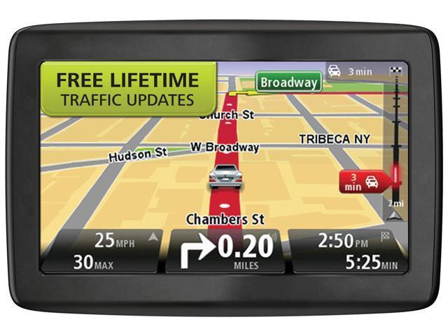 "TomTom 5.0"" GPS Navigation w/ Lifetime Traffic Update"