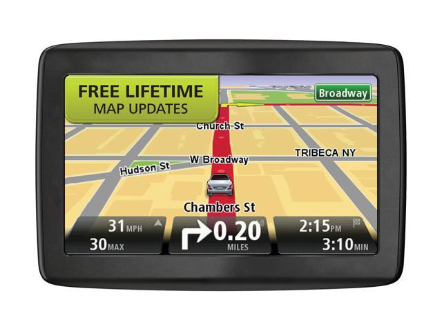 """TomTom 5.0"""" GPS Navigation with Lifetime Map Updates"""