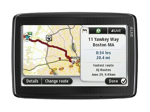 "TomTom 5.0"" GPS Navigation w/ Lifetime Map Update"