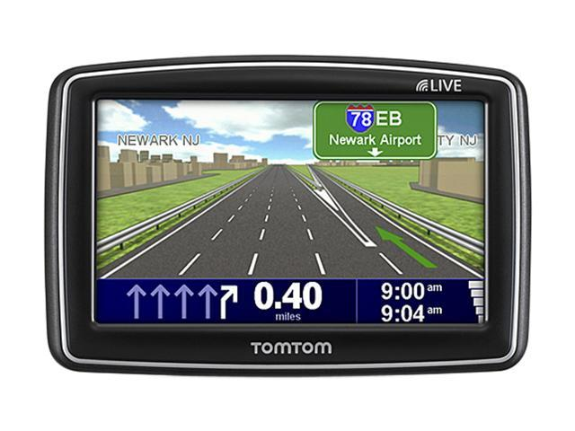 "TomTom 4.3"" GPS Navigation w/ GPS Case & Screen Protector"