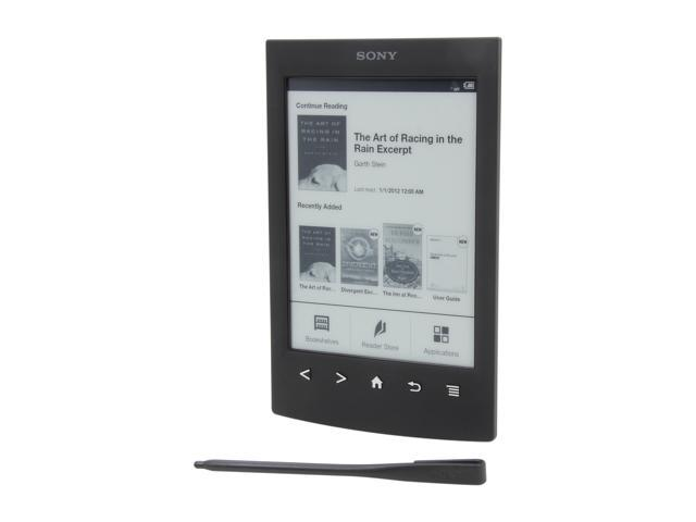 "SONY 6"" Black E-Book Reader PRST2BC"