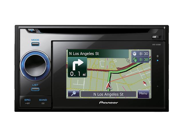 "Pioneer 4.3"" In-Dash Navigation CD Receiver"