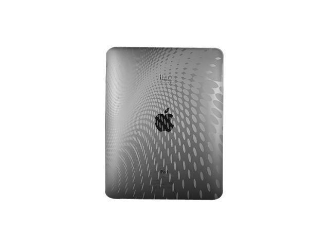 iLuv - Flexi-Clear Case w/ Dot Wave Pattern for iPad (PINK)