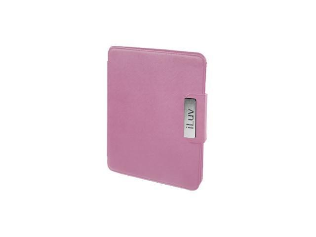 iLuv iCC806PNK Leather Cover for iPad - Pink Pink