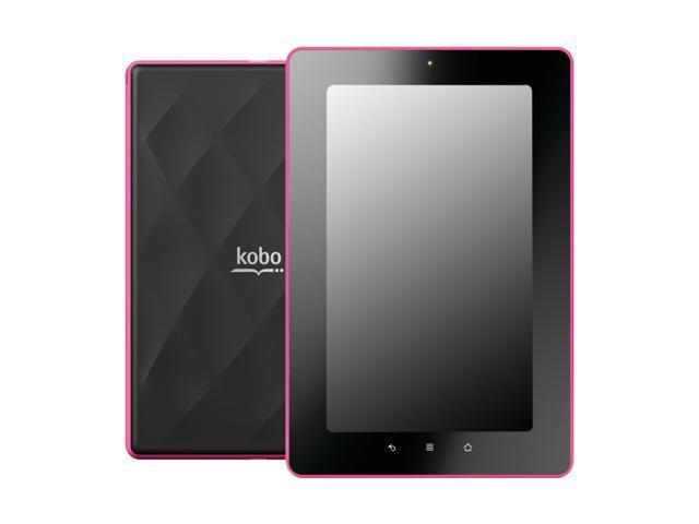 "Kobo K080-KBO-P 8G Flash 7.0"" Vox eReader - Pink"