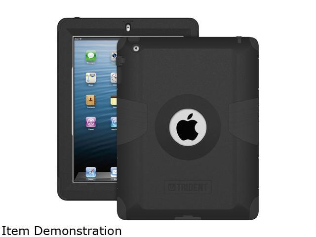 Trident Black Kraken AMS Case for iPad AMS-NEW-IPADUS-BK