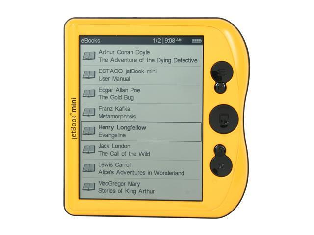 ECTACO jetBook mini California Yellow
