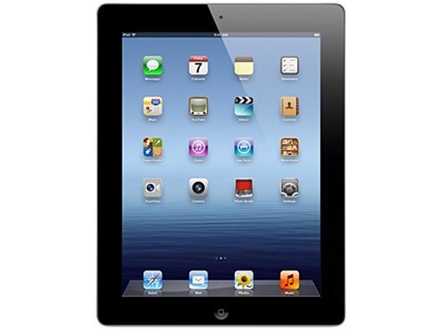 Apple The new iPad 3rd Gen (16 GB) with Wi-Fi – Black – Model #MC705LL/A