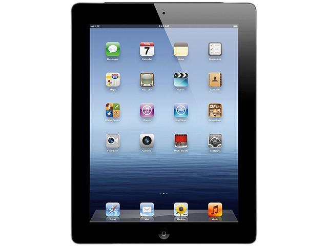 """Apple MD367LL/A 32GB Flash 9.7"""" iPad with Wi-Fi + 4G LTE for AT&T 32GB - Black (3rd generation)"""