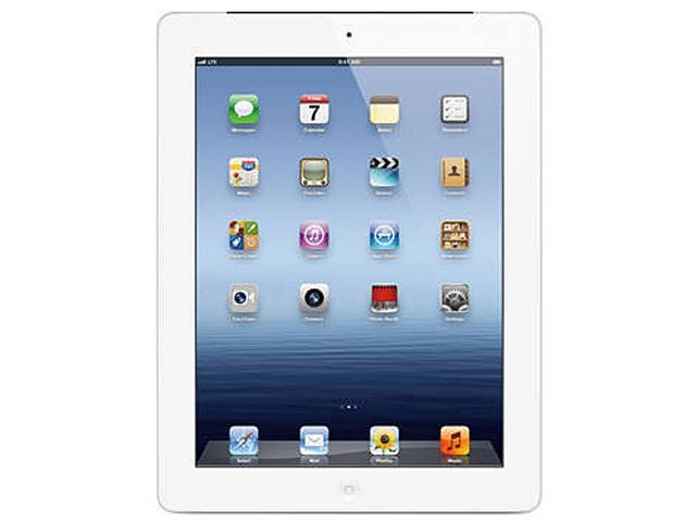 Apple The new iPad 3rd Gen (64 GB) with Wi-Fi + AT&T 4G LTE - White – Model #MD371LL/A
