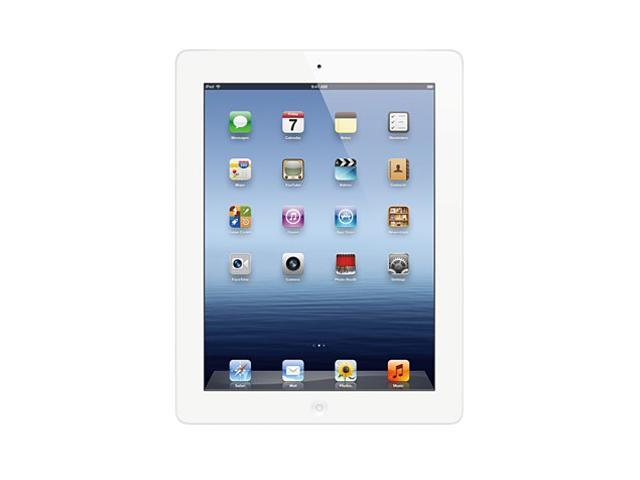 "Apple MD330LL/A-R 64GB Flash 9.7"" iPad with Wi-Fi 64GB - White (3rd generation)"