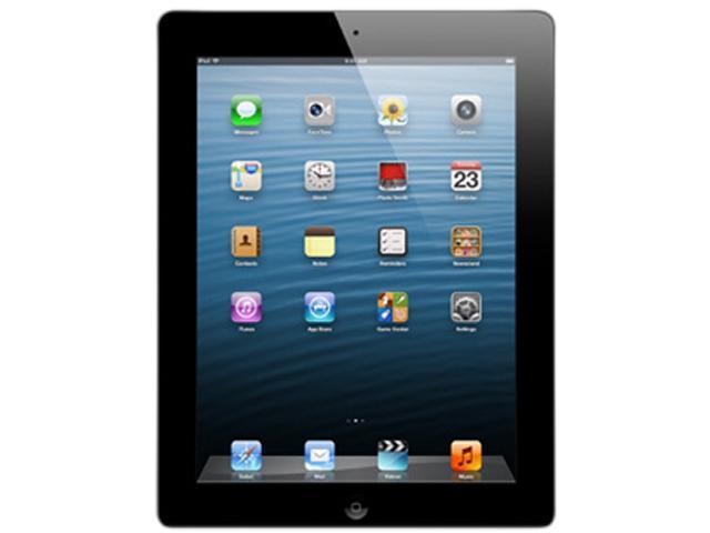 Apple iPad with Retina Display 4th Gen (16 GB) with Wi-Fi – Black – Model # MD510LL/A