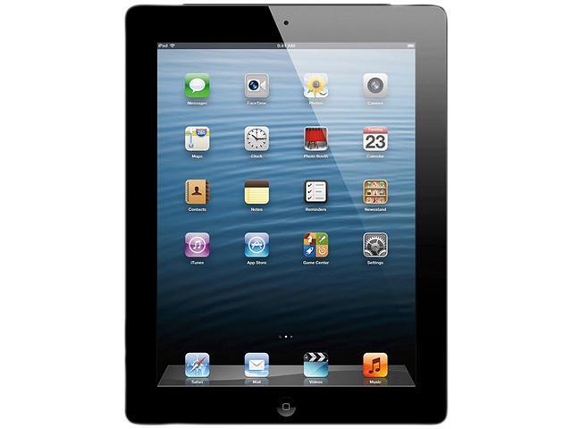 "Apple MD516LL/A 16GB flash storage 9.7"" iPad with Retina Display Wi-Fi+Cellular for AT&T - Black"