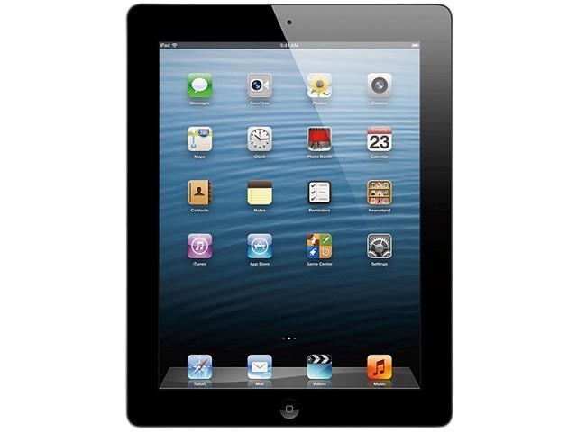 "Apple MD516E/A 16 GB 9.7"" iPad with Retina Display Wi-Fi+Cellular for AT&T - Black"