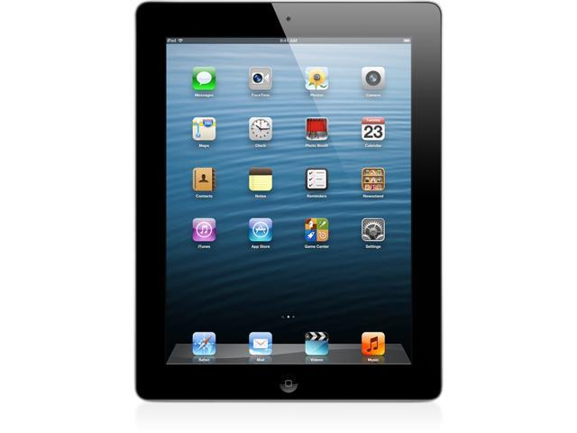 Apple iPad with Retina Display ME400LL/A (128GB, Wi-Fi + AT&T, Black) NEWEST VERSION - Retail