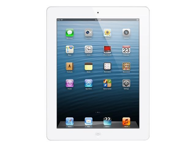 Apple iPad with Retina Display ME401LL/A (128GB, Wi-Fi + AT&T, White) NEWEST VERSION - Retail
