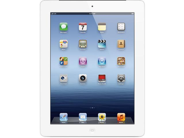 "Apple MD328LL/A A-GRADE 16GB Flash 9.7"" iPad with Wi-Fi 16GB - White (3rd generation)"
