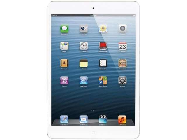 "Apple iPad Mini 2 ME279LL/A 16GB 7.9"" With Wi-Fi - White & Silver"