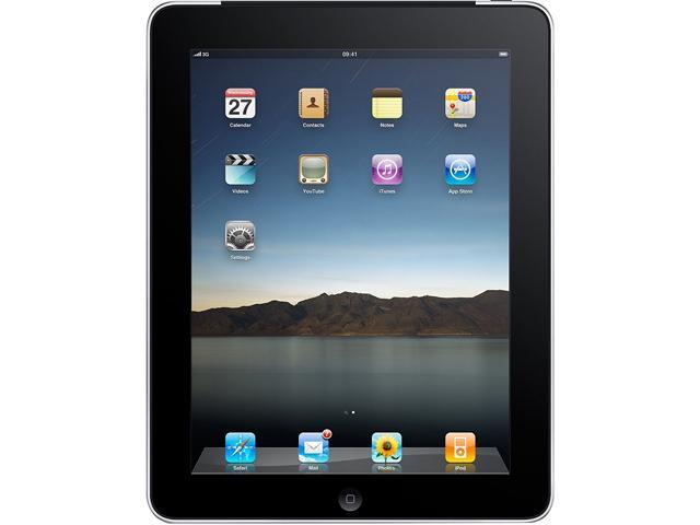 "Apple iPad MB292LL/A-B 16GB Flash 9.7"" Tablet PC"