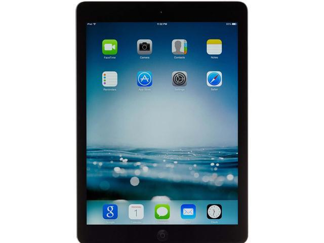 "Refurbished: Apple iPad Air Apple A7 1 GB Memory 32 GB Flash Storage 9.7"" Touchscreen - Wi-Fi Only - A Grade iOS 7"