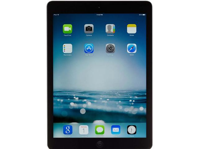 "Refurbished: Apple iPad Air Apple A7 1 GB Memory 16 GB Flash Storage 9.7"" Touchscreen Tablet PC - Tablets iOS 7"