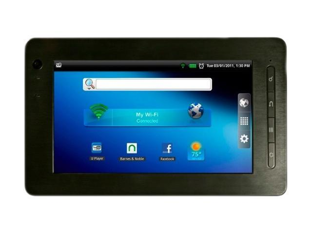 "Pandigital R70B200 2GB Shared Storage 7.0"" Media Tablet"