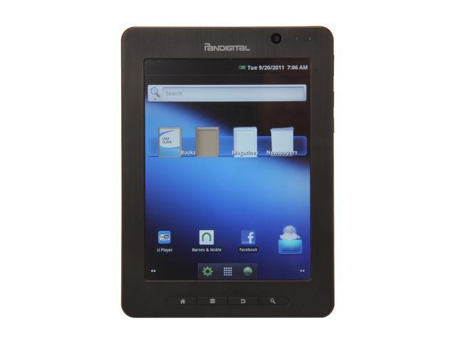 Pandigital R80B400 Samsung S5PV210 512MB DRAM Memory 4GB Shared Storage 8.0