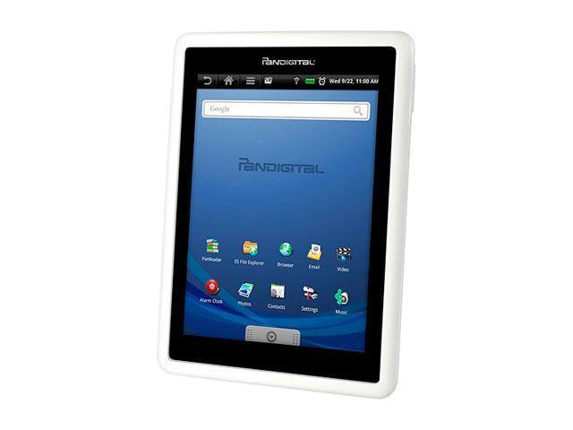 Pandigital R7T40WWHF1 Samsung ARM 11 Mobile processor 1GB DDR2 Memory 4GB on-board storage memory 7.0