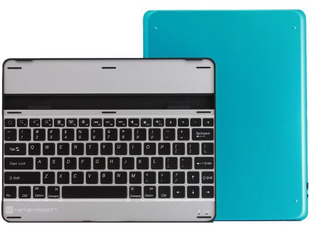 Hip Street HSIPAD2KBCSBL Bluetooth Keyboard Case Blue