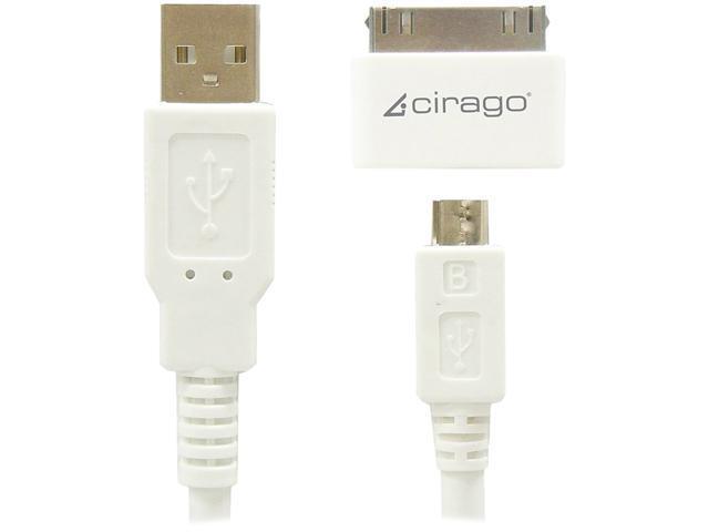 Cirago USB Sync/Charge Cable Kit IMA1000