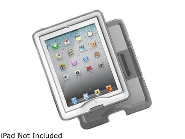LifeProof White / Gray Case & Cover/Stand for iPad Gen 2/3/4 Model 1103-02