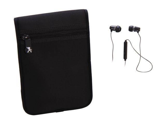 MACH SPEED Black Case and Earbuds Bundle Model JBKINBND