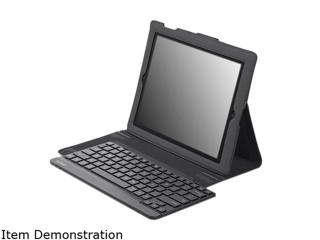 Belkin YourType Keyboard/Cover Case (Folio) for iPad - Black