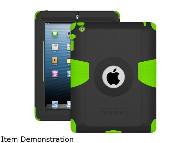 Trident Case Green Kraken AMS Case for Apple iPad 2/iPad 3/iPad 4th Generation Model AMS-NEW-IPADUS-TG