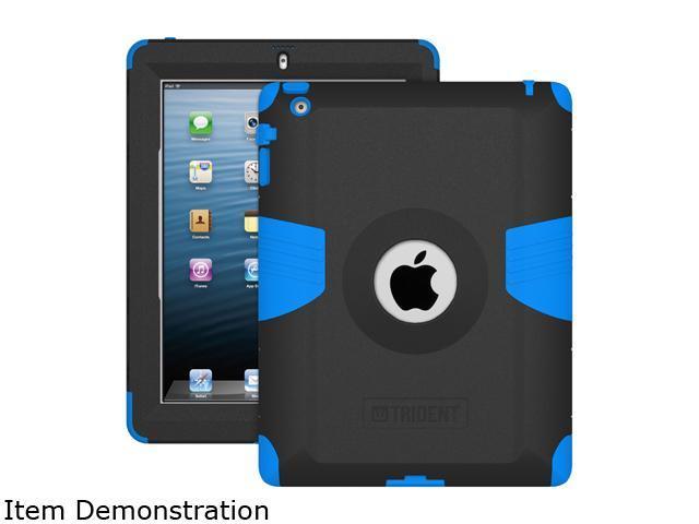 Trident Blue Case for Apple iPad 2/iPad 3/iPad 4th Generation AMS-NEW-IPADUS-BLU